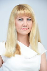 """Vera Dorohova, """"Luminor"""" Ārējo sadarbības partneru centra vadītāja"""